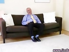 aged guy watches younger beauty fingering