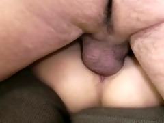 hungry blond sucks after fucking with lucky old