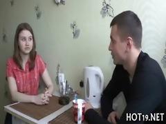 stranger fucks hot teenie