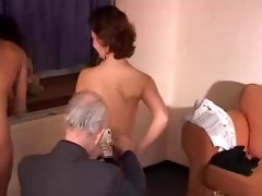 hot women receive drilled by old man