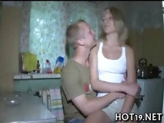 oral-service stimulation and vaginal fuck