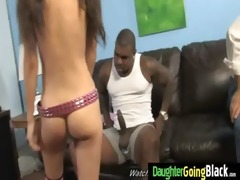 juvenile daughter gets pounded by large dark rod 9