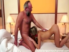 moist gal screwed by large cock