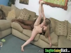 constricted young legal age teenager takes large