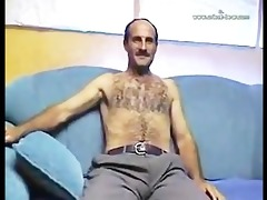large rod hirsute dad jos and cums 4 u