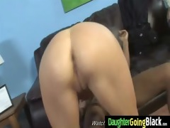 juvenile daughter with fine arse drilled by a