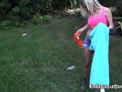 floozy girlfriend with her ex mans brother in the
