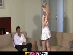 enjoyable youthful blond falls for her