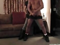 hung daddy raw copulates nice-looking hunk