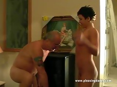 dark haired doxy maxxx engulf old rod