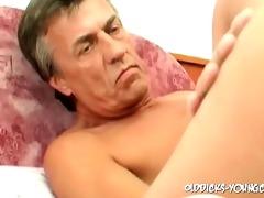 57yo guy bonks three-some youthful cum-hole