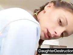 juvenile daughter screwed hard