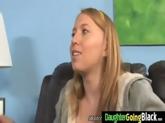 constricted youthful legal age teenager takes