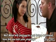 action defloration video