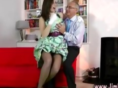 hot posh floozy receives herself off