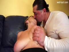 excited daughter cum filled