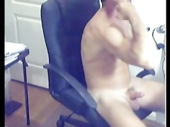 ripped hawt hirsute daddy discharges loan