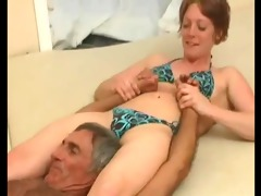 she is pins him down
