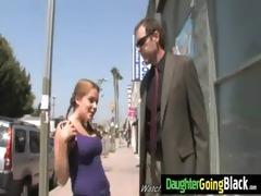 juvenile daughter screamer copulates a dark rod