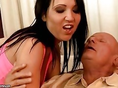 lustful grand-dad enjoys sex with hawt legal age