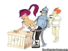 futurama family sex