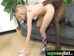 youthful daughter with worthwhile ass drilled by