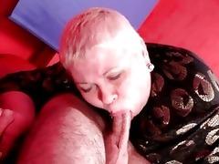italian grandma likes younger penis inside her
