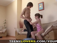 teeny paramours - she t live without his abs and