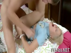 eager legal age teenager practices with cock