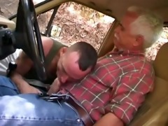 dad copulates hitch hiker