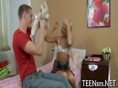 fleshly sex game of worthwhile legal age teenager