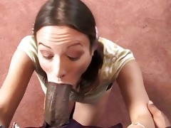 amber rayne goes darksome in front of her father
