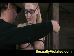 farmers daughter receives her milk sacks tied 9