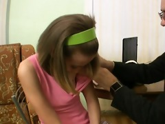 lustful teacher seducing teen