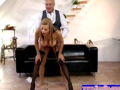 golden-haired euro sweethearts anal enjoyment