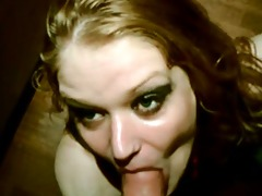 the blond slag acquires a lesson